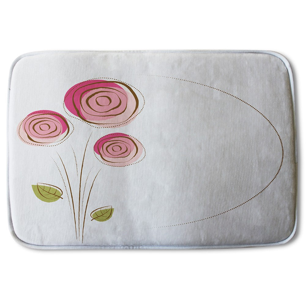 New Product Rose Drawing (Bath Mat)  - Andrew Lee Home and Living