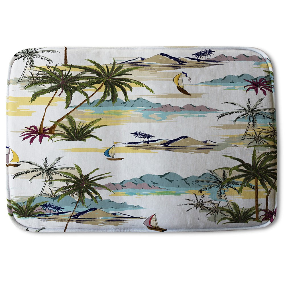 New Product Palm Trees (Bath Mat)  - Andrew Lee Home and Living