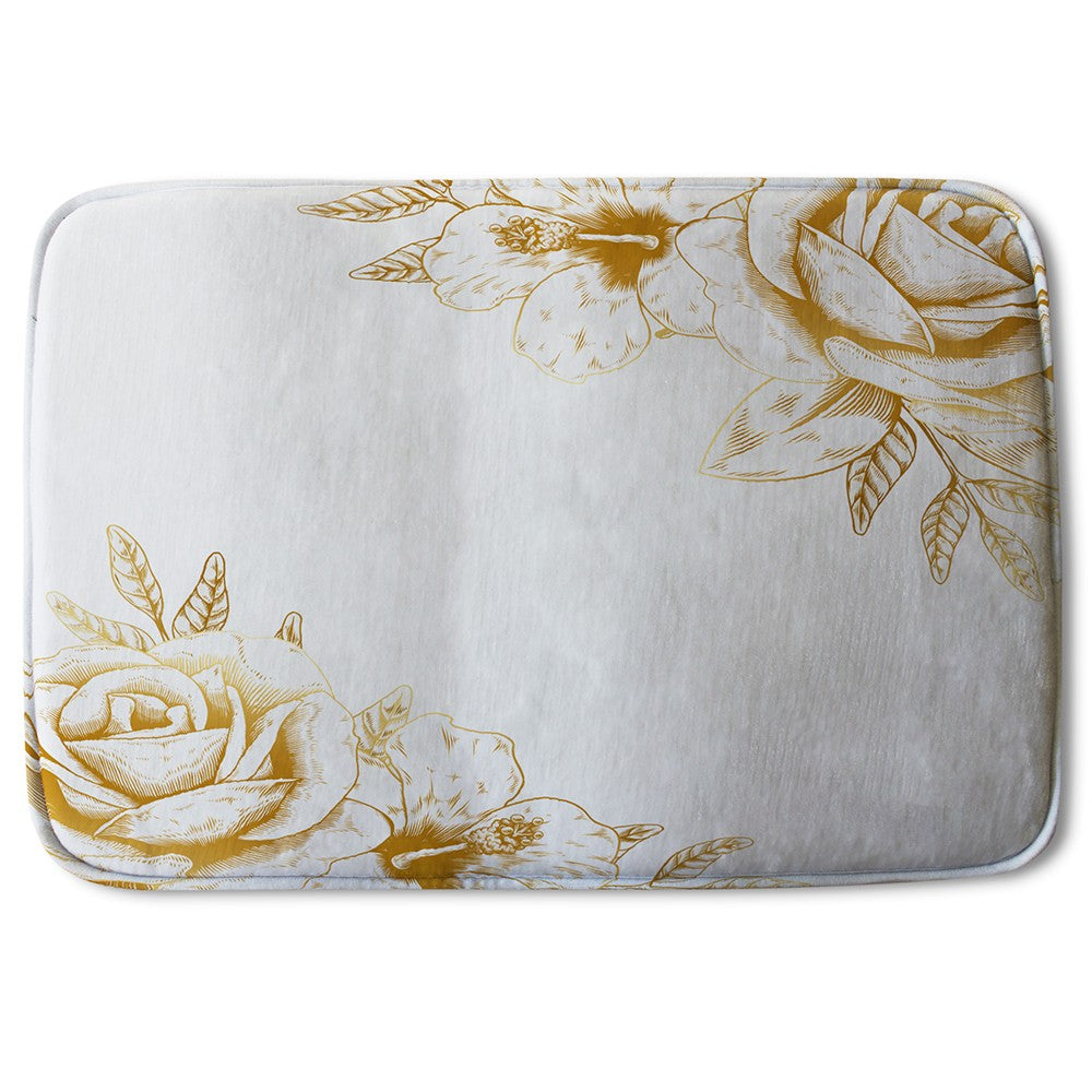 New Product Gold Rose (Bath Mat)  - Andrew Lee Home and Living