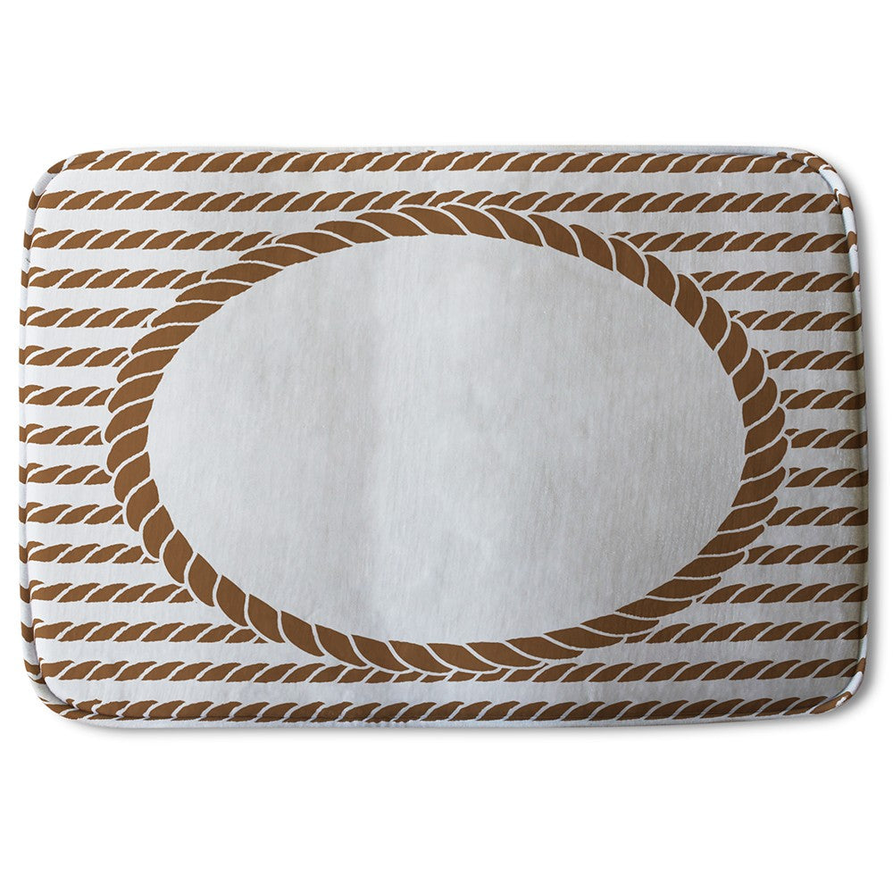 New Product Rope Border (Bath Mat)  - Andrew Lee Home and Living