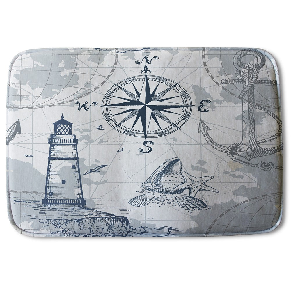 New Product Compass & Map (Bath Mat)  - Andrew Lee Home and Living