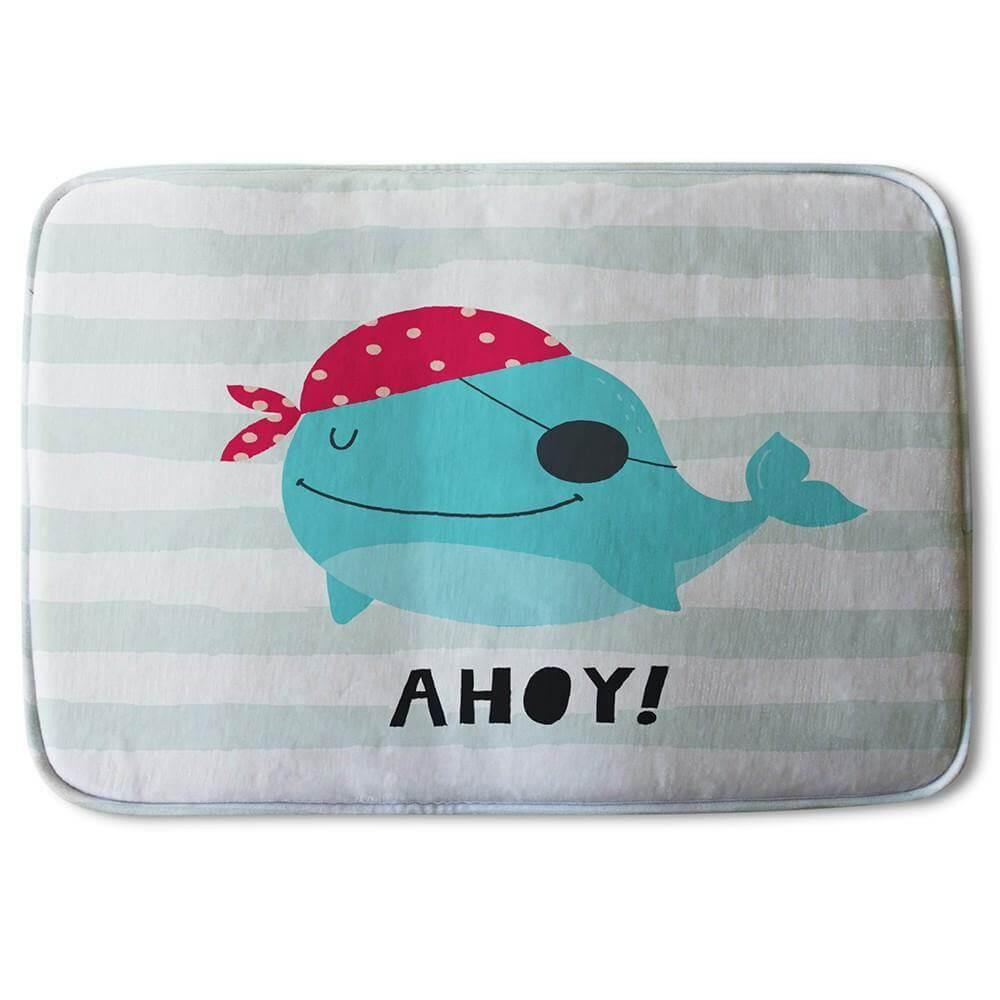 New Product Ahoy! Whale (Bath Mat)  - Andrew Lee Home and Living