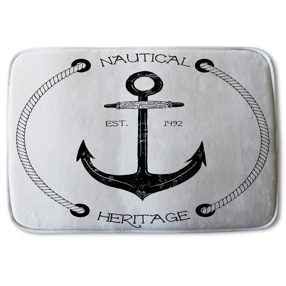 New Product Nautical Anchor (Bath Mat)  - Andrew Lee Home and Living