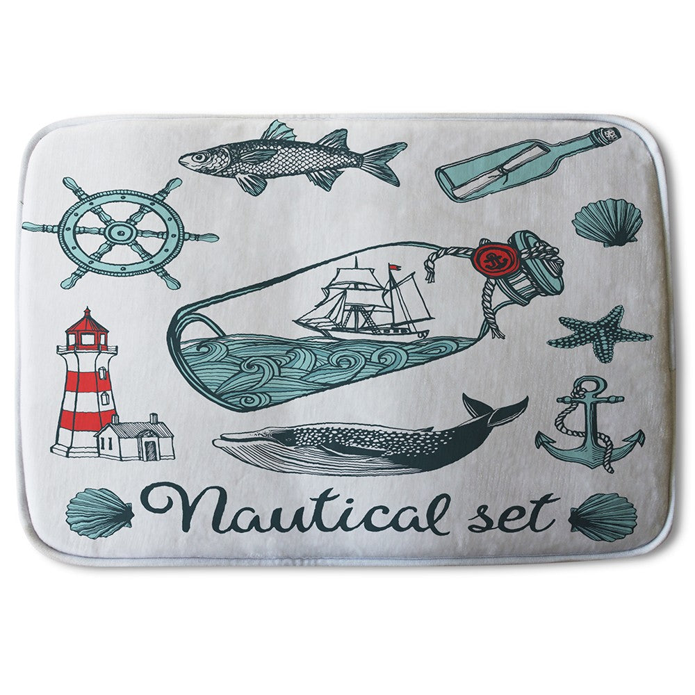 New Product Nauticle Items (Bath Mat)  - Andrew Lee Home and Living