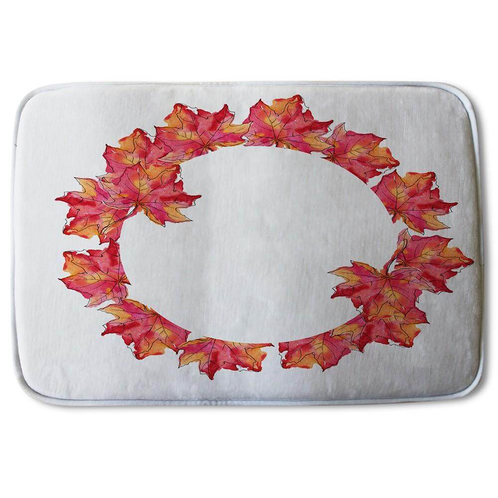 New Product Autumn Reath (Bath Mat)  - Andrew Lee Home and Living