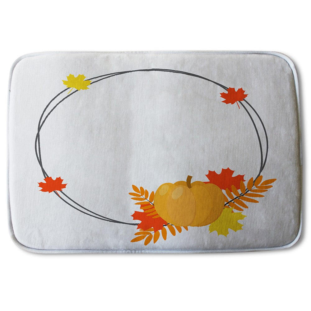 New Product Pumpkin (Bath Mat)  - Andrew Lee Home and Living