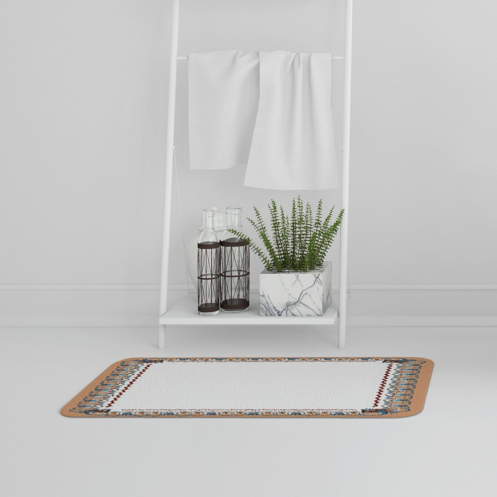 New Product Egypt Border (Bath Mat)  - Andrew Lee Home and Living