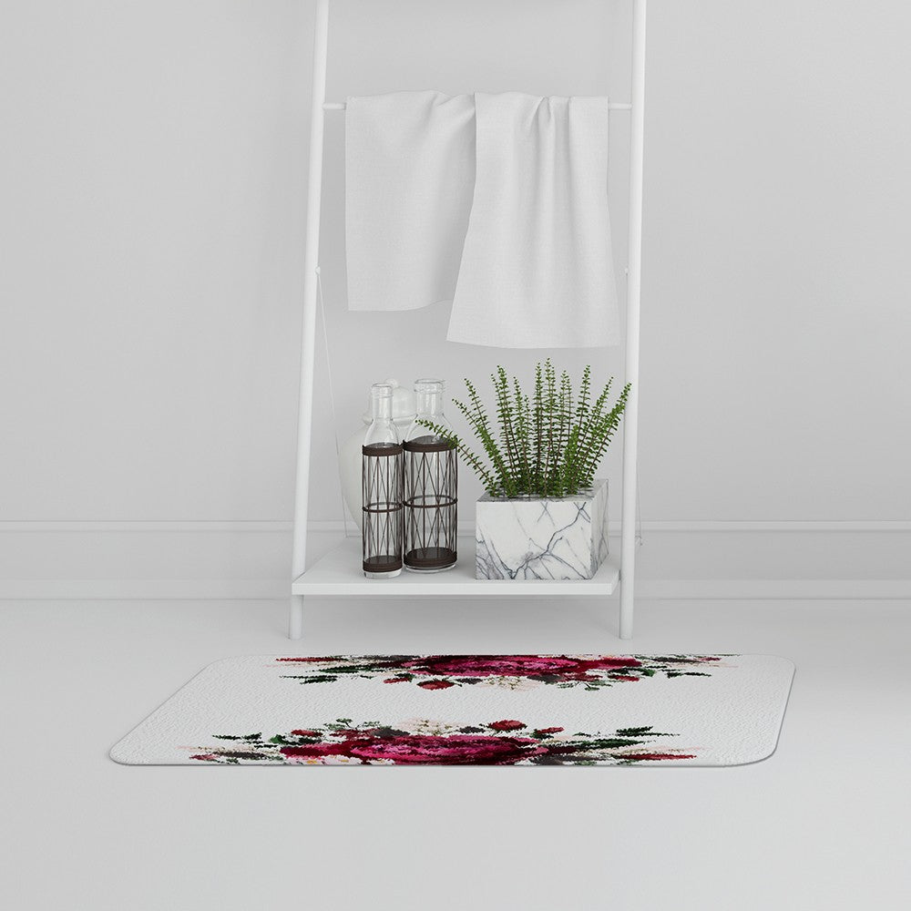 New Product Open Roses (Bath Mat)  - Andrew Lee Home and Living