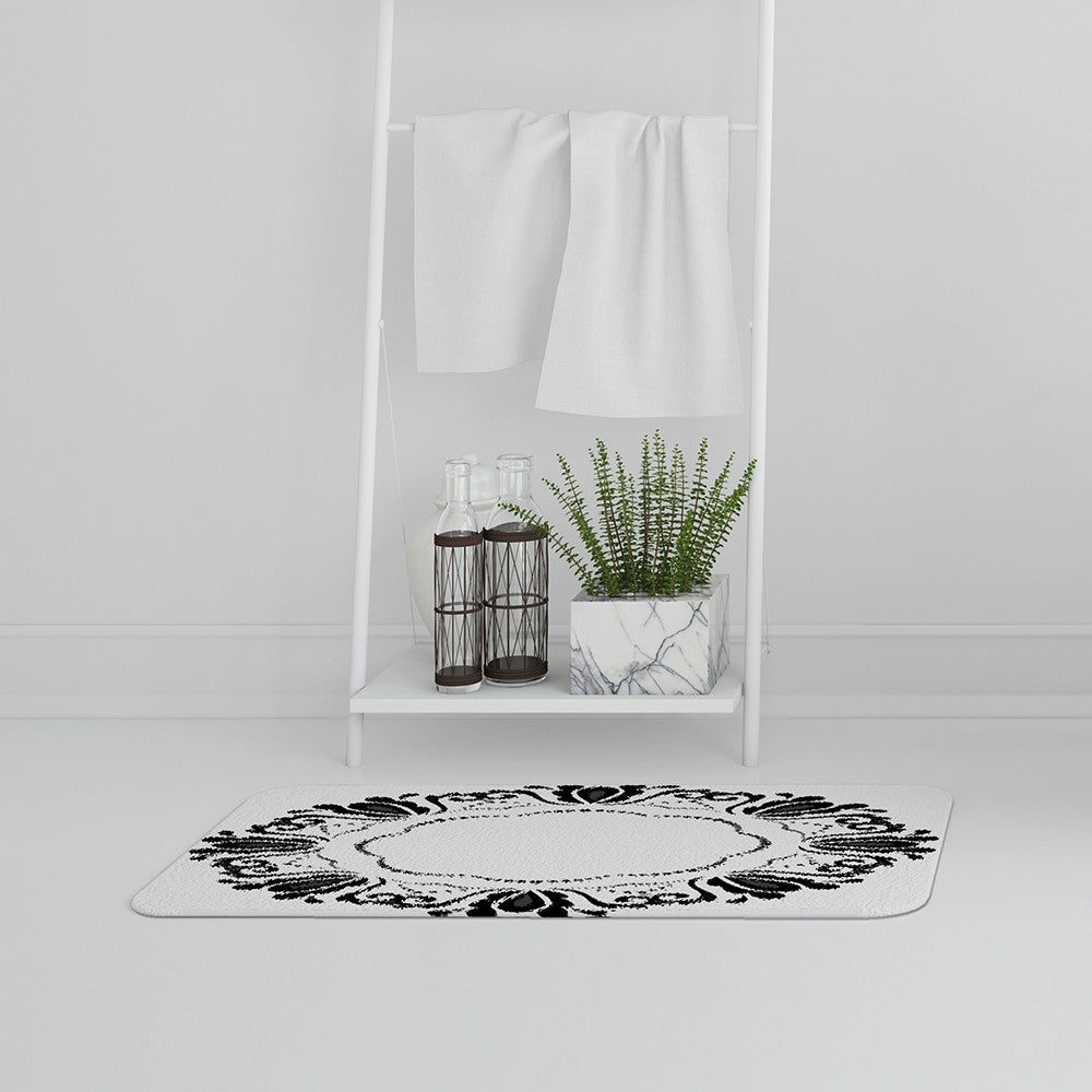 New Product Decorative Floral Element (Bath Mat)  - Andrew Lee Home and Living