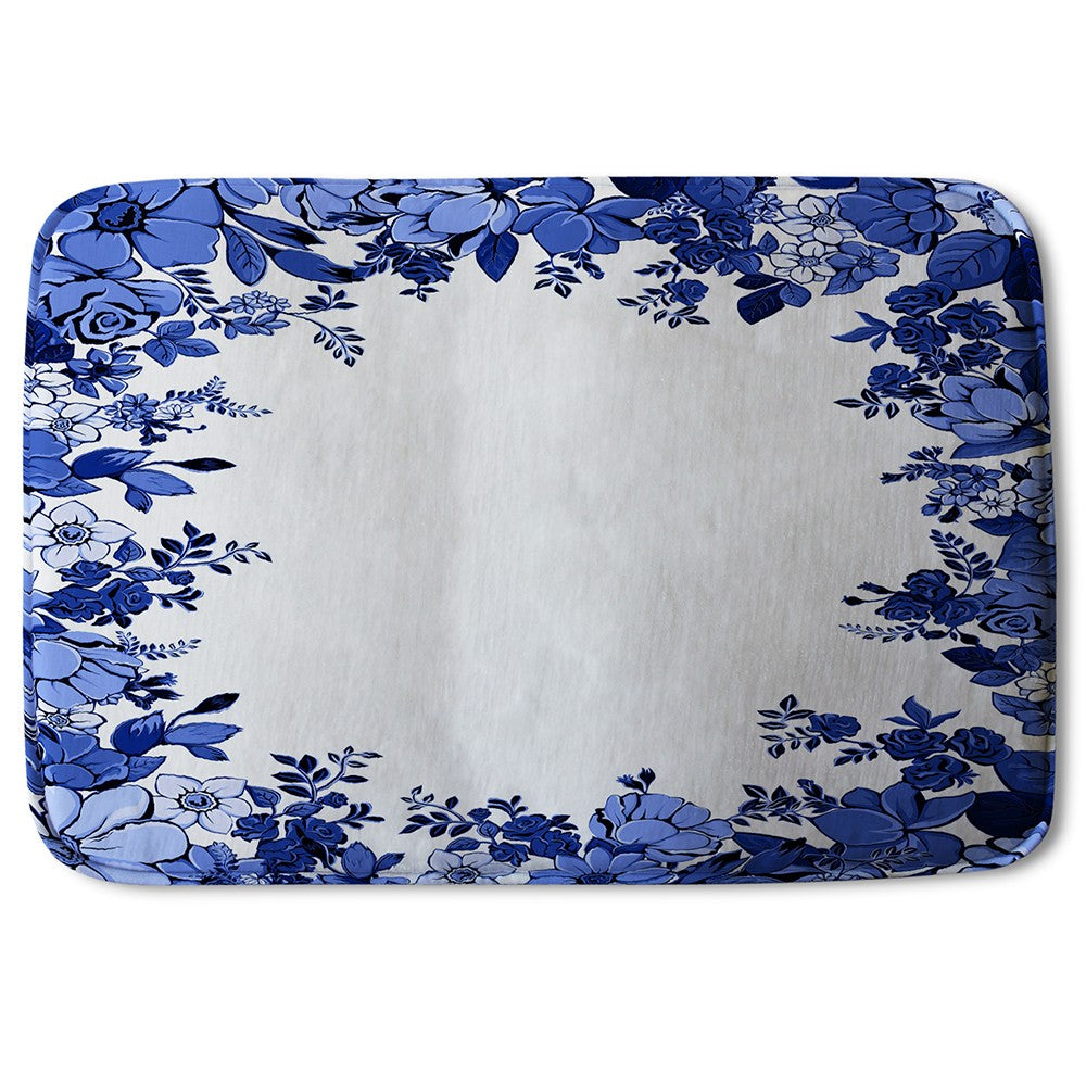 New Product Winter Floral Frame (Bath Mat)  - Andrew Lee Home and Living
