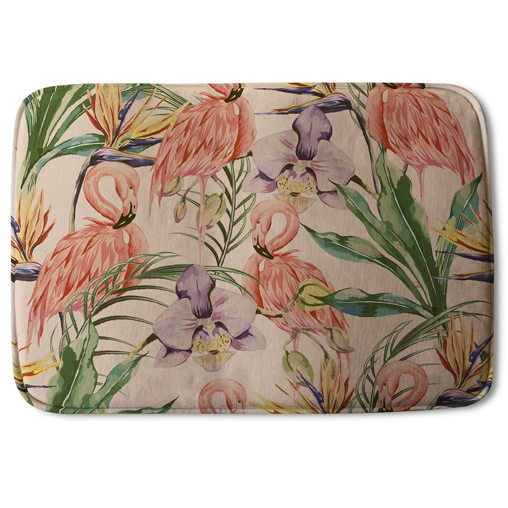 New Product Tropical Flamingo (Bath Mat)  - Andrew Lee Home and Living