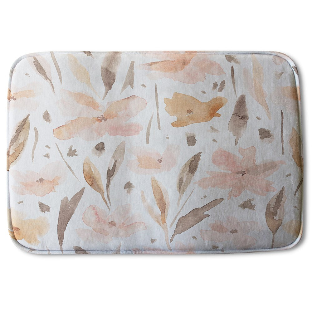 New Product Pink Watercolour (Bath Mat)  - Andrew Lee Home and Living