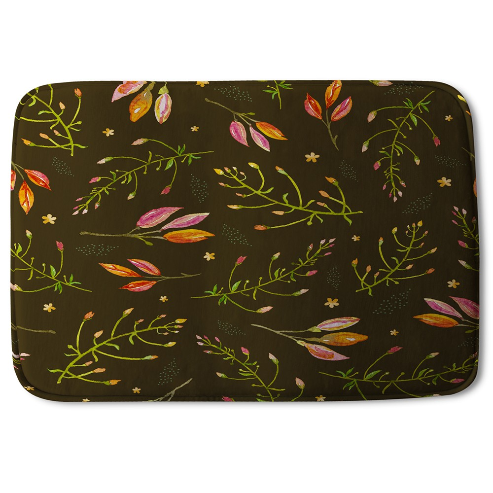 New Product Green Branches (Bath Mat)  - Andrew Lee Home and Living