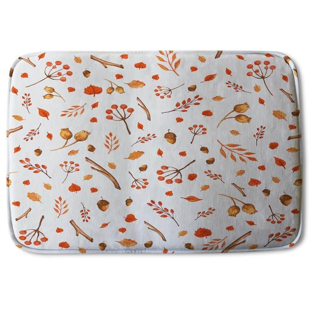 New Product Acorns & Leaves (Bath Mat)  - Andrew Lee Home and Living