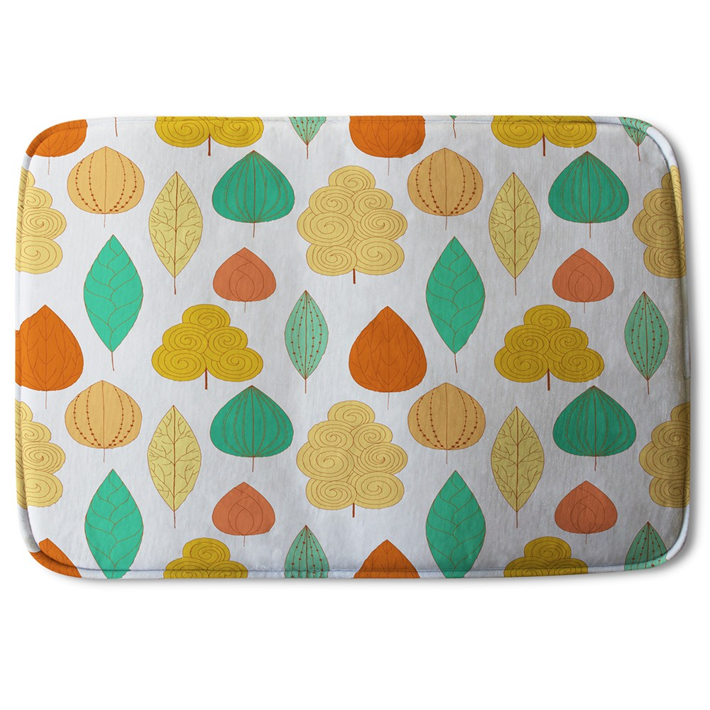 New Product Decorative Leaves (Bath Mat)  - Andrew Lee Home and Living
