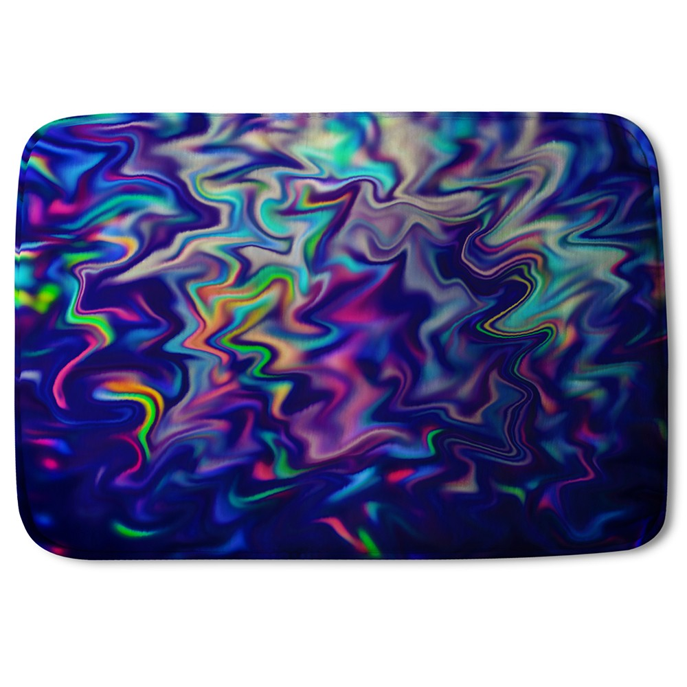 New Product Psychedelic Marble (Bath Mat)  - Andrew Lee Home and Living