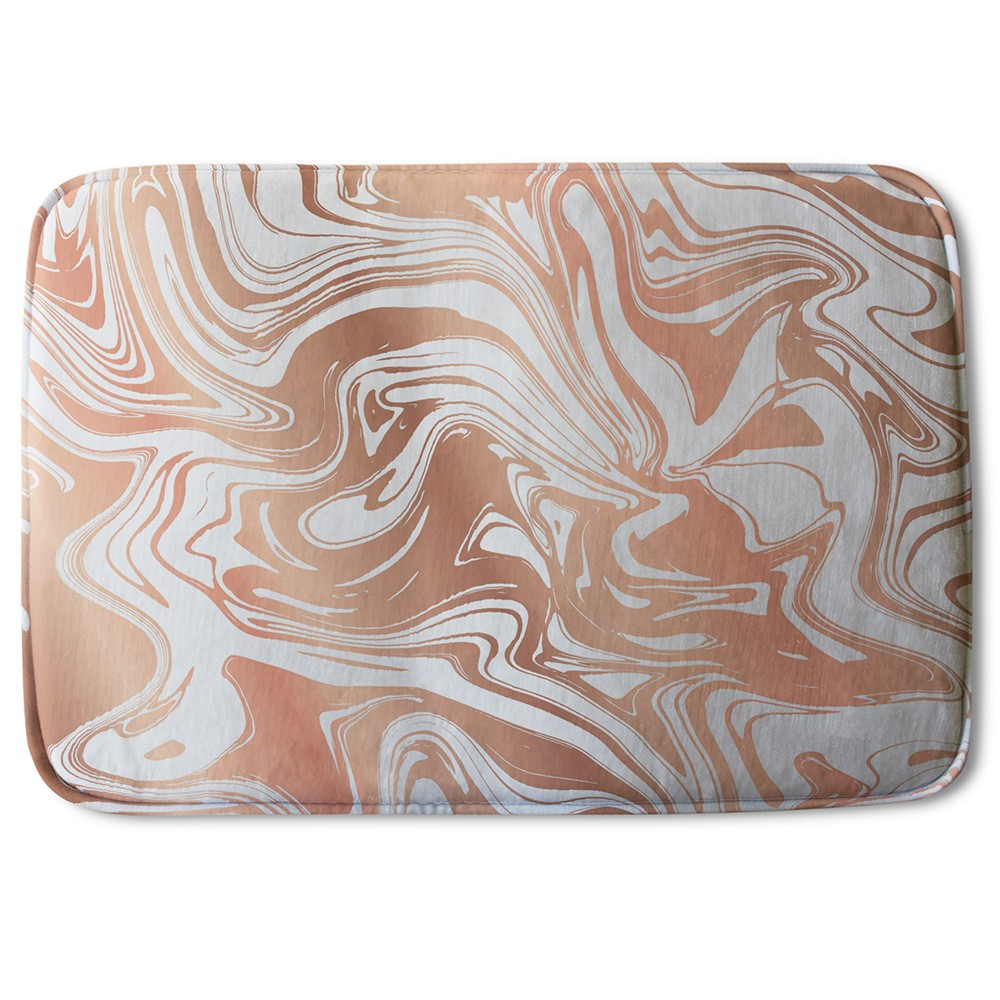 New Product Rose Gold Marble (Bath Mat)  - Andrew Lee Home and Living