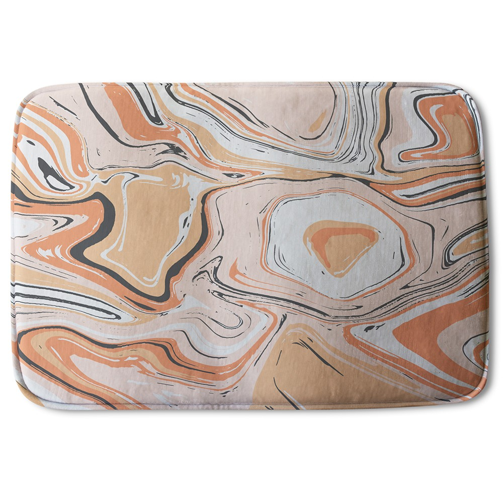 New Product Pink Marble (Bath Mat)  - Andrew Lee Home and Living