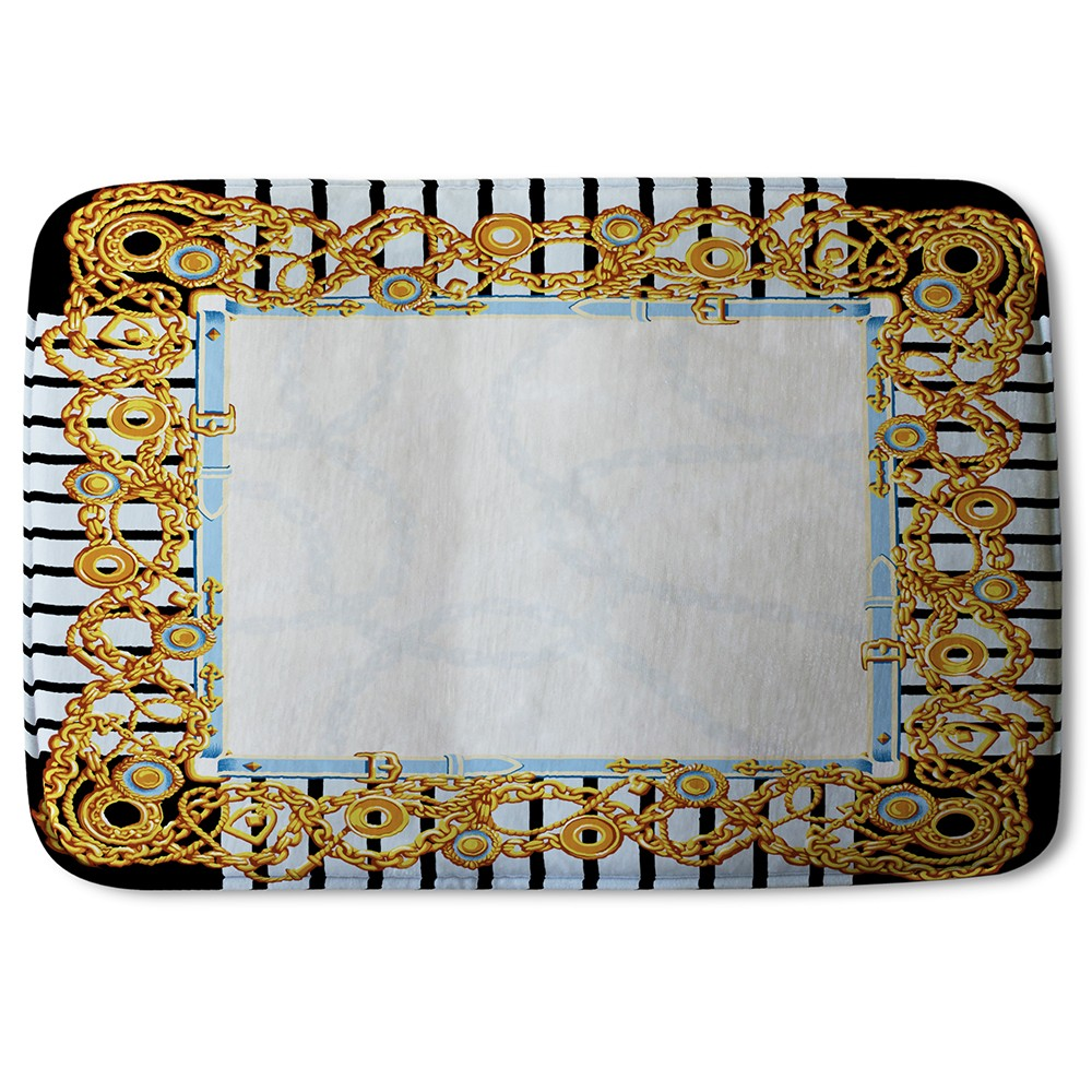 New Product Golden Chains (Bath Mat)  - Andrew Lee Home and Living