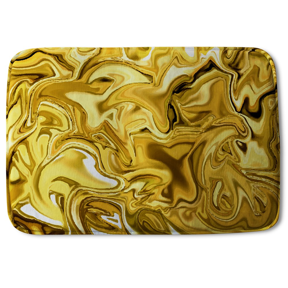 New Product Golden Liquid (Bath Mat)  - Andrew Lee Home and Living