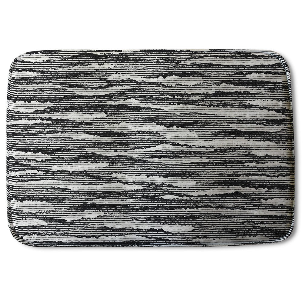 New Product Grunged Stripes (Bath Mat)  - Andrew Lee Home and Living