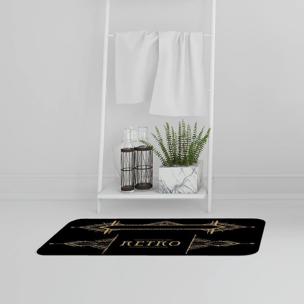 New Product Art Deco Retro (Bath Mat)  - Andrew Lee Home and Living