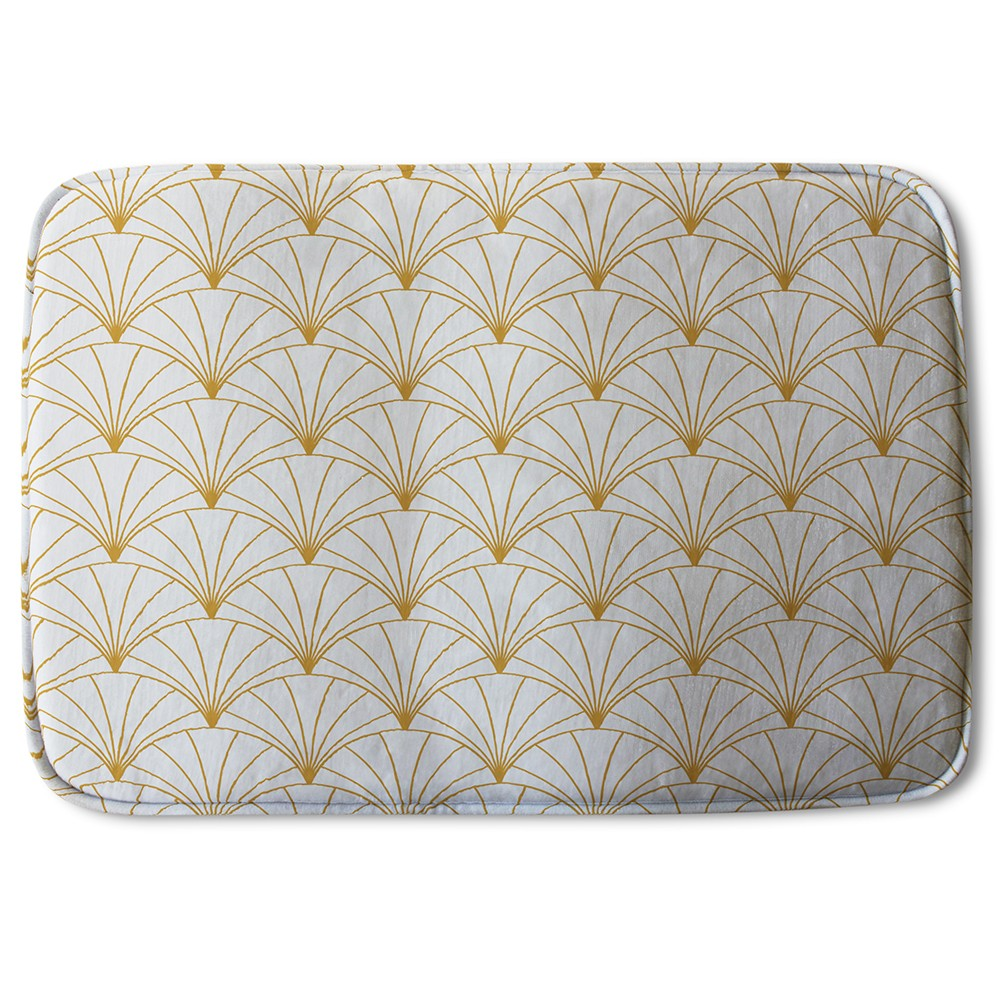 New Product Gold Shells (Bath Mat)  - Andrew Lee Home and Living