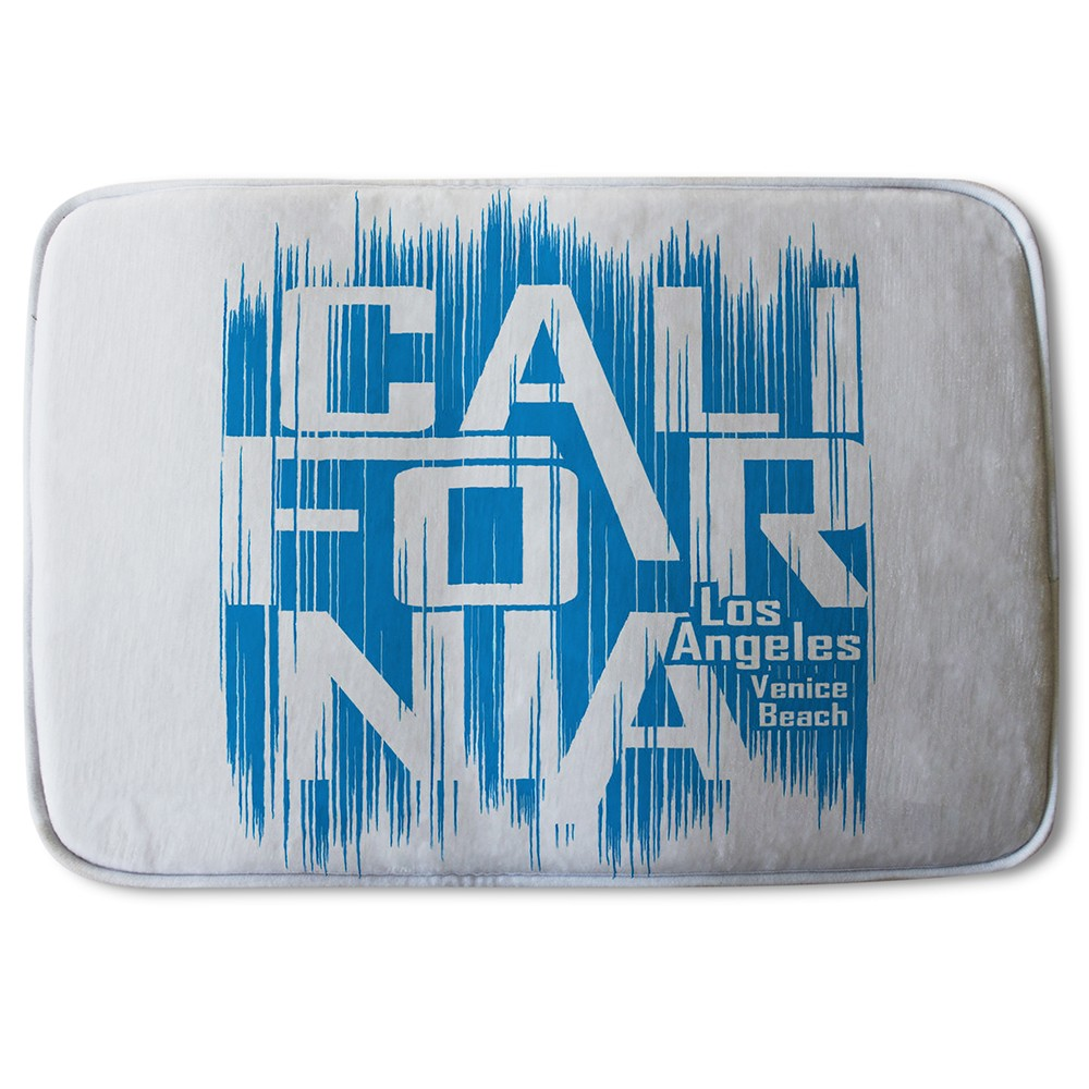 New Product California Venice Beach (Bath Mat)  - Andrew Lee Home and Living