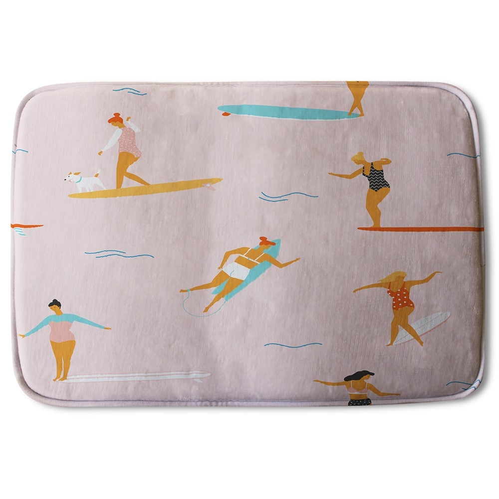 New Product Surfers (Bath Mat)  - Andrew Lee Home and Living