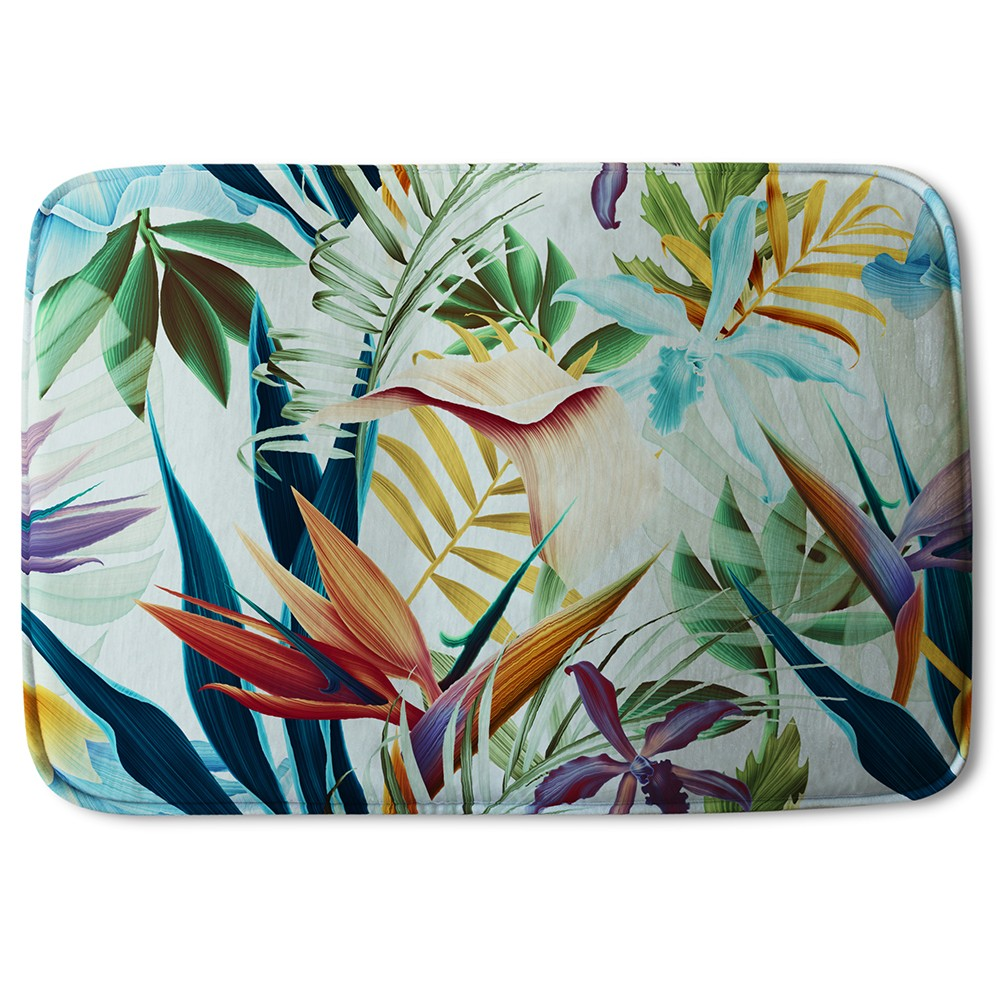 New Product Tropical Plants (Bath Mat)  - Andrew Lee Home and Living