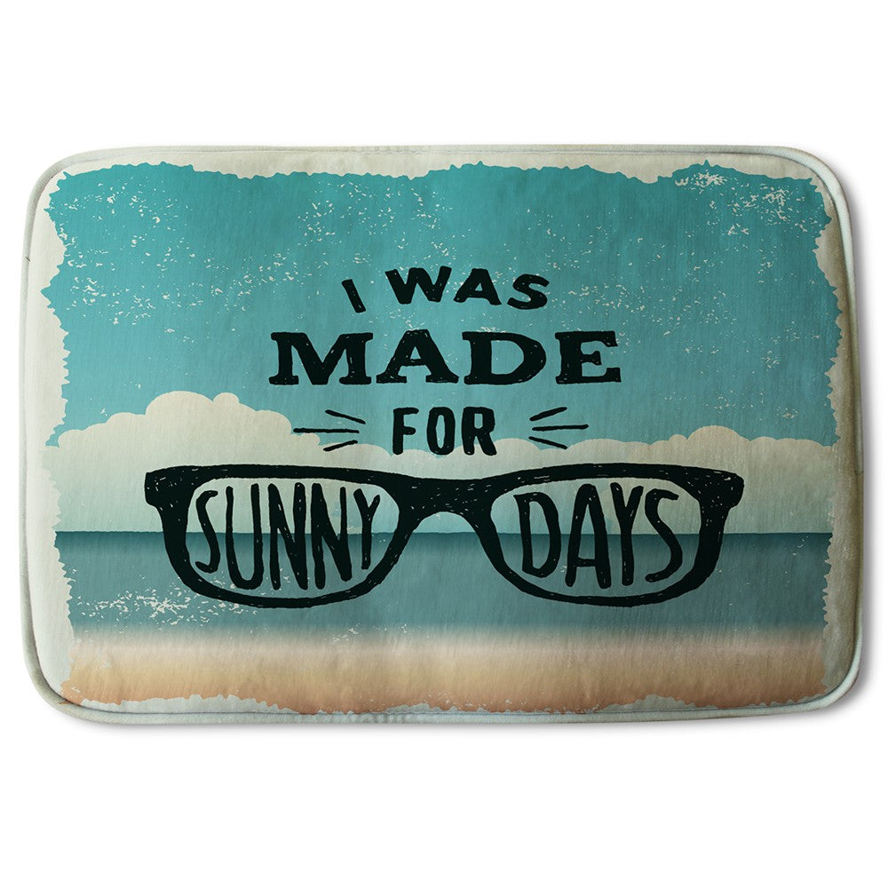 New Product I Was Made For Sunny Days (Bath Mat)  - Andrew Lee Home and Living
