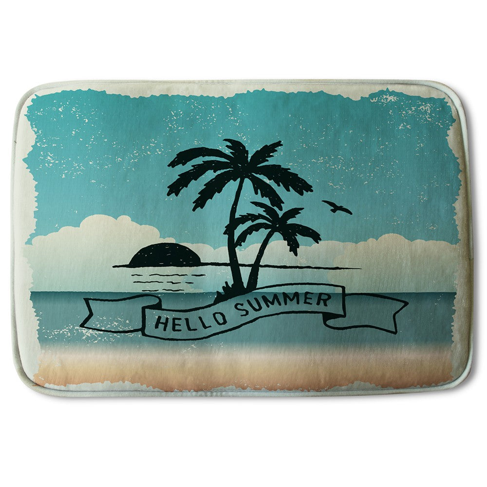 New Product Hello Summer (Bath Mat)  - Andrew Lee Home and Living