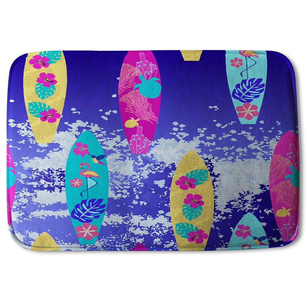 New Product Tropical Surf (Bath Mat)  - Andrew Lee Home and Living