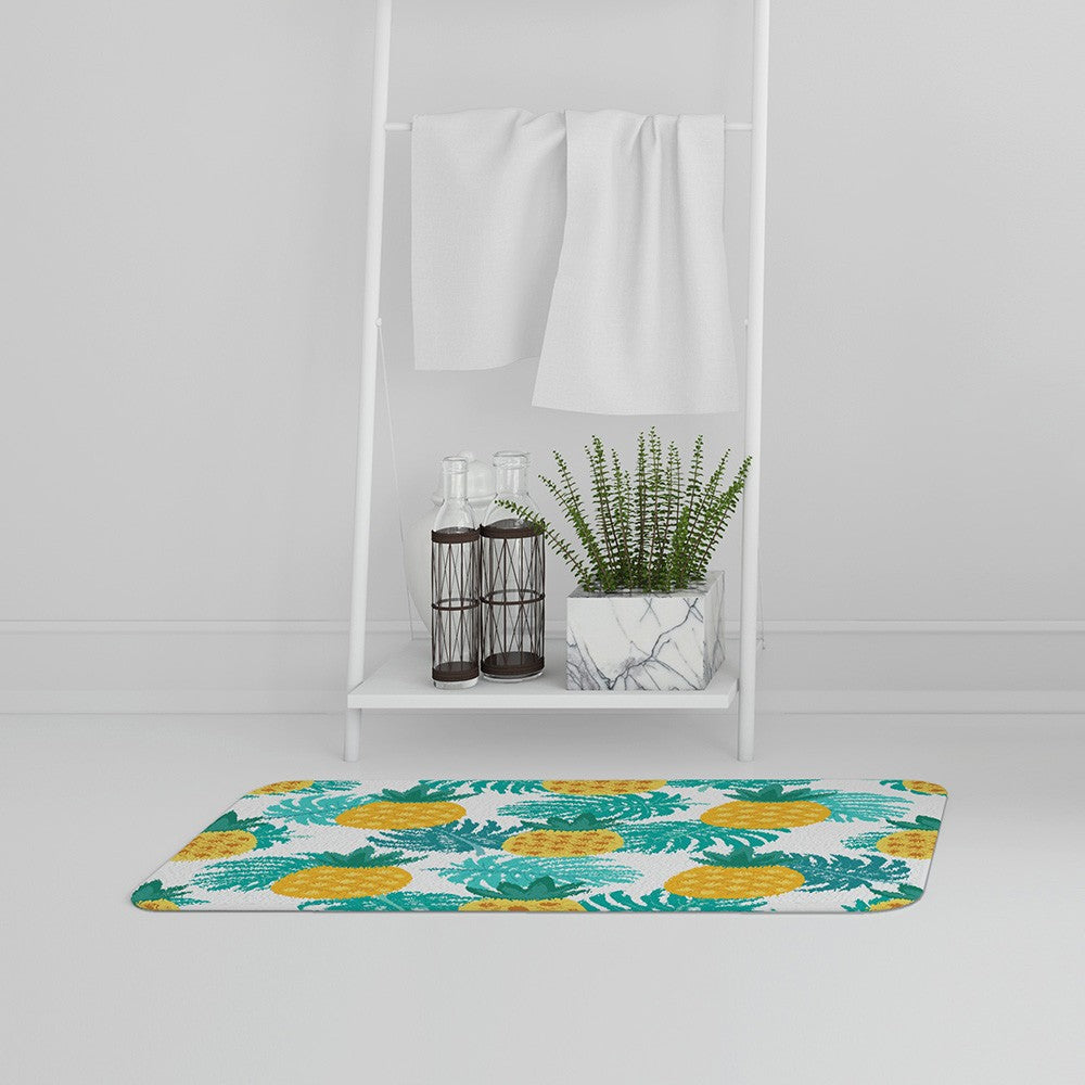 New Product Pineapples (Bath Mat)  - Andrew Lee Home and Living