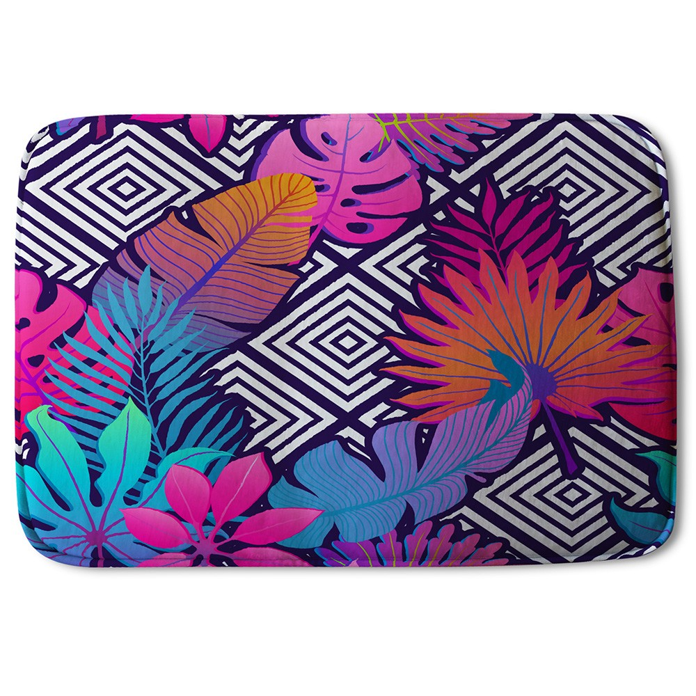 New Product Tropical Geometric (Bath Mat)  - Andrew Lee Home and Living