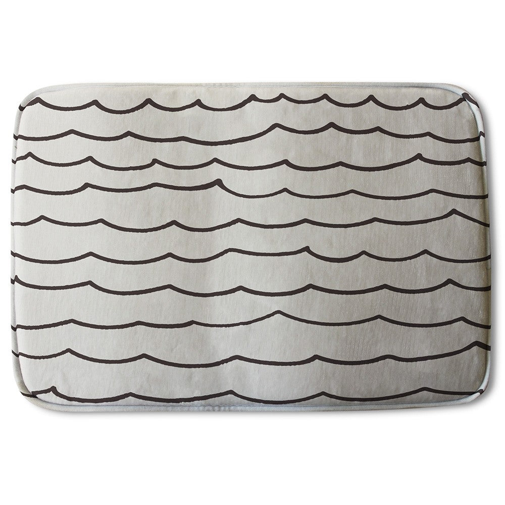 New Product Wave Lines (Bath Mat)  - Andrew Lee Home and Living