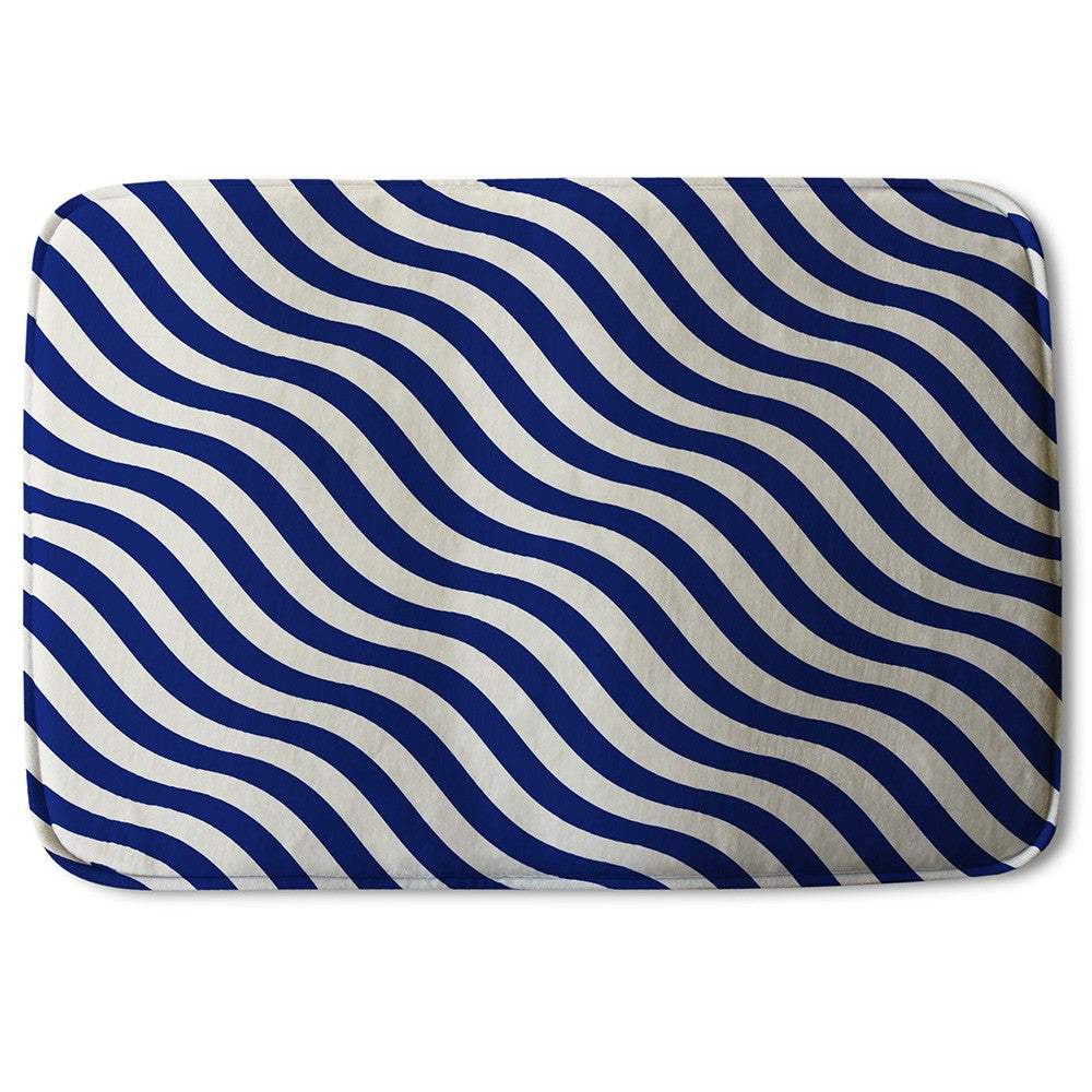 New Product Wavey Lines (Bath Mat)  - Andrew Lee Home and Living
