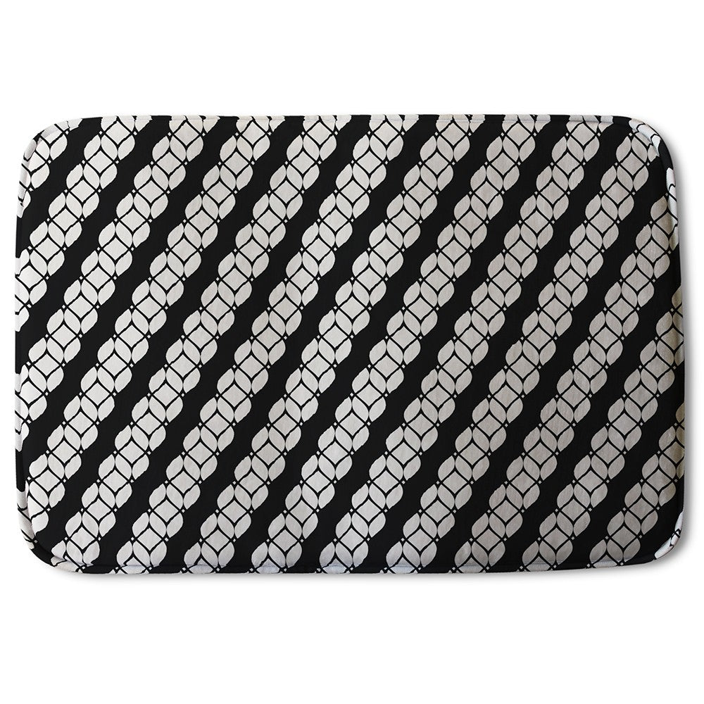 New Product Striped Rope Pattern (Bath Mat)  - Andrew Lee Home and Living