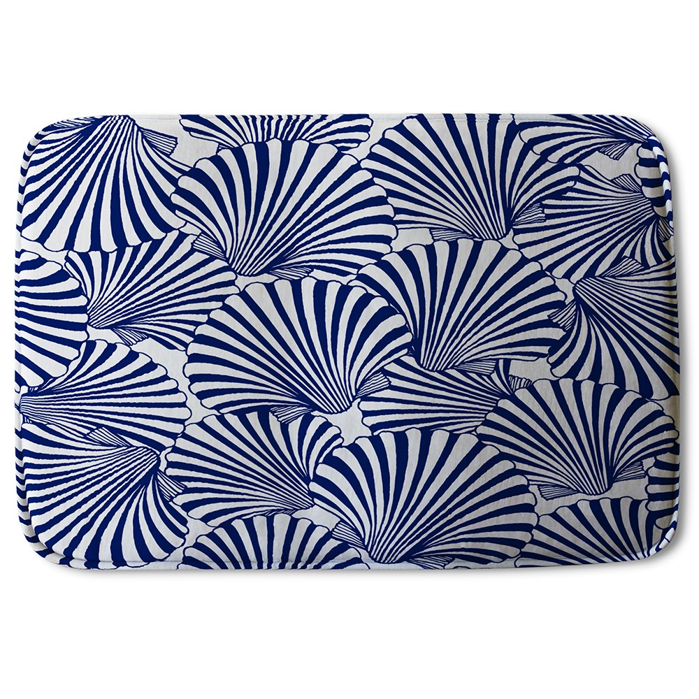 New Product Striped Sea Shells (Bath Mat)  - Andrew Lee Home and Living