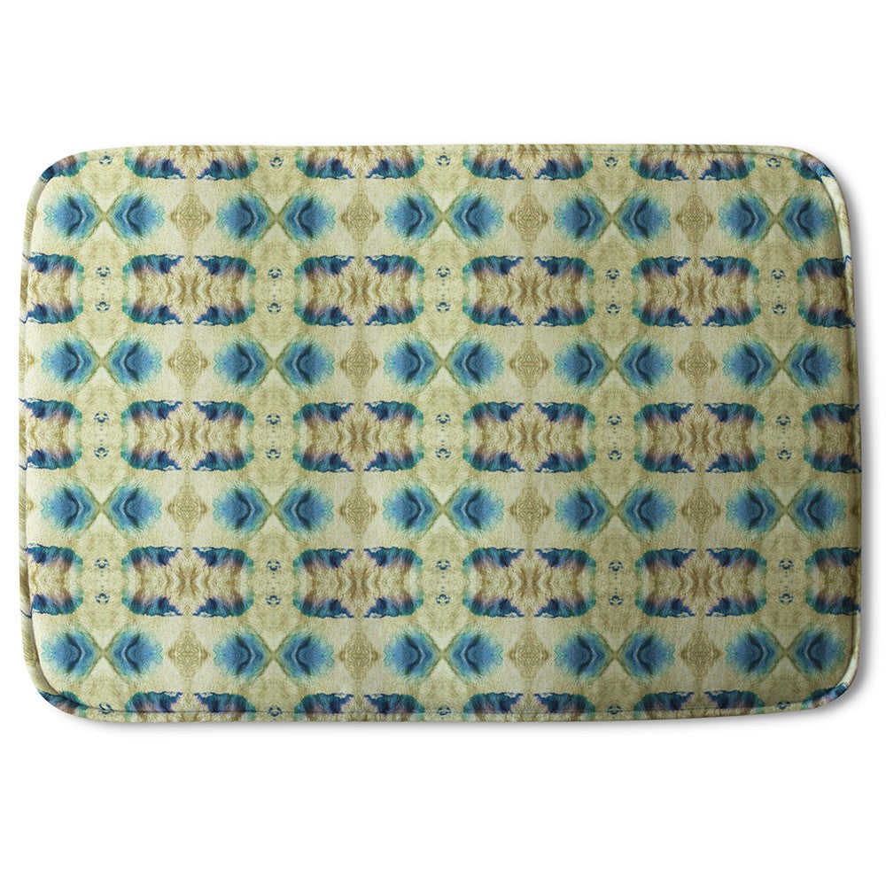 New Product Psychedelic Geometric Pattern (Bath Mat)  - Andrew Lee Home and Living