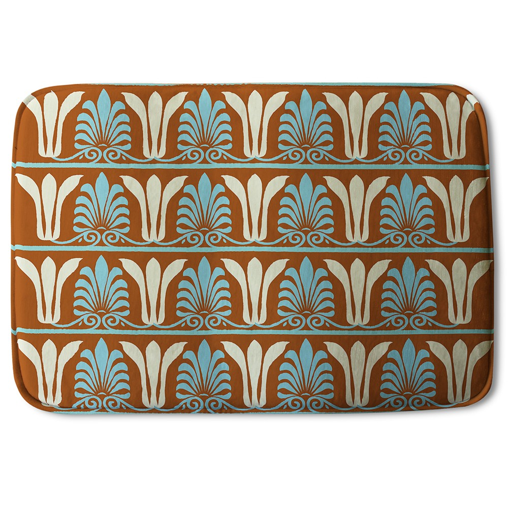 New Product Egyptian Flower Ornament Pattern (Bath Mat)  - Andrew Lee Home and Living