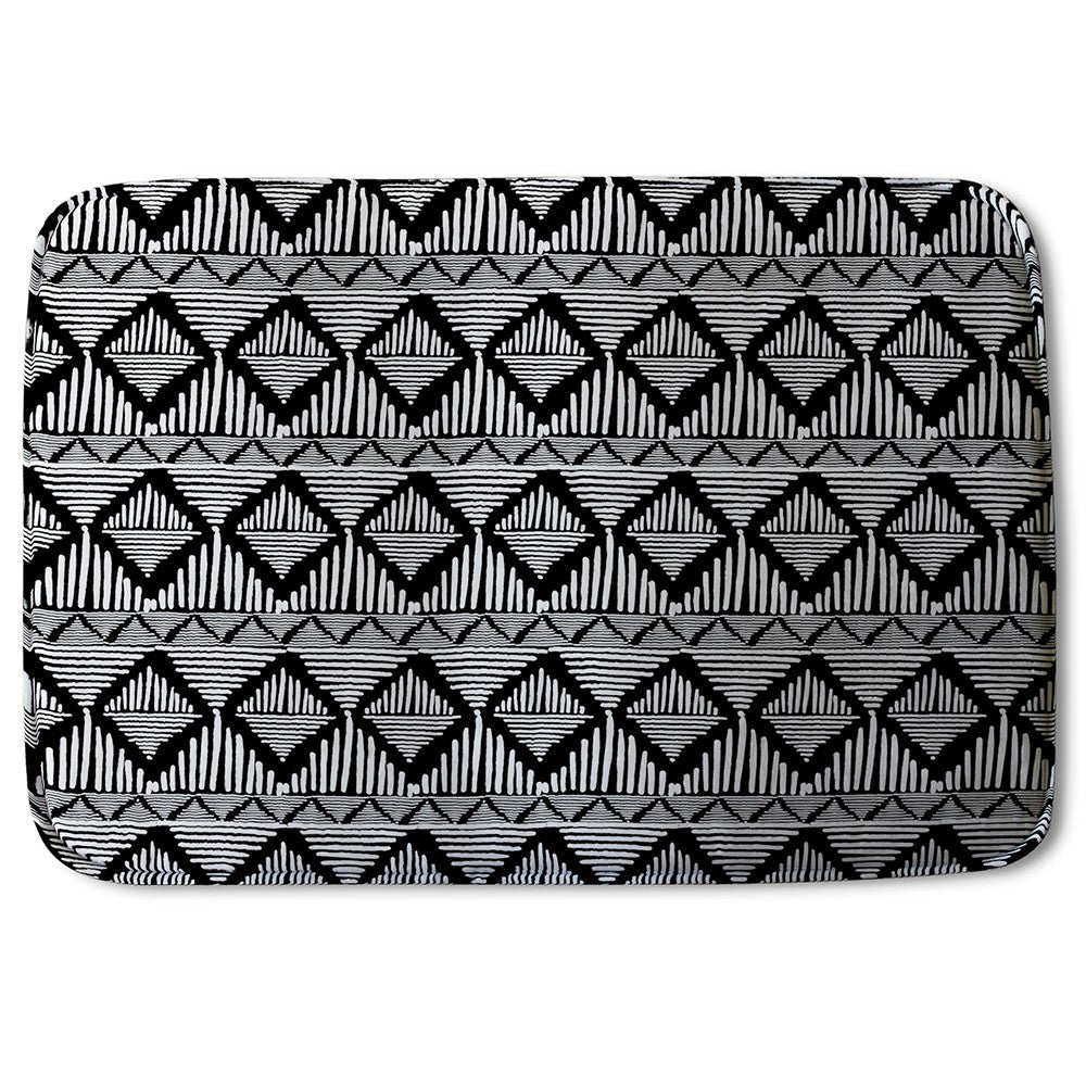 New Product Geometric Line Pattern (Bath Mat)  - Andrew Lee Home and Living