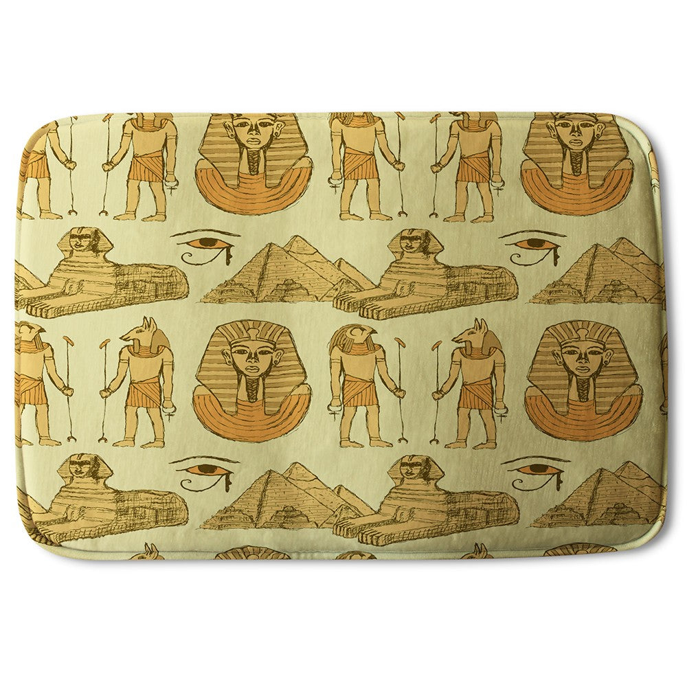 New Product Egyptians & Sphinx (Bath Mat)  - Andrew Lee Home and Living