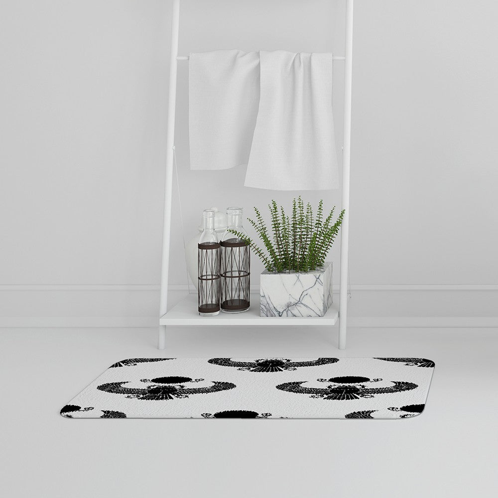 New Product Scarab Silhouette (Bath Mat)  - Andrew Lee Home and Living