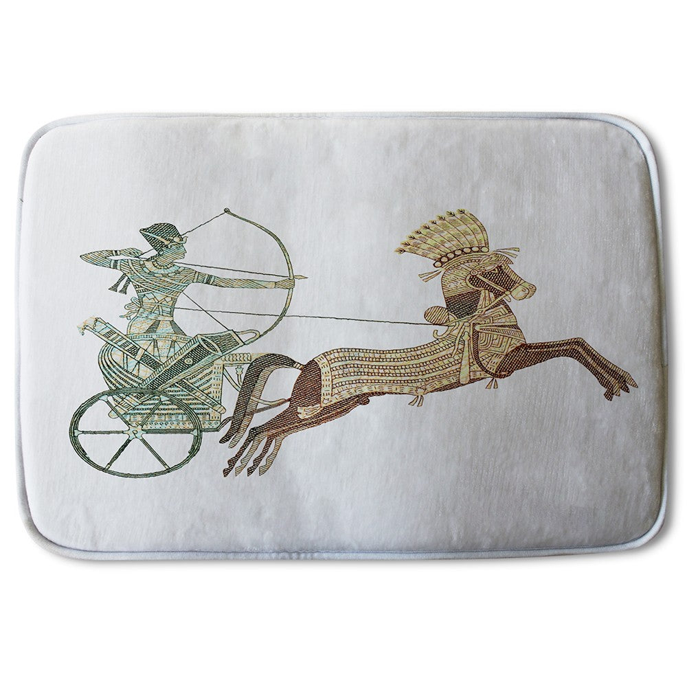 New Product Pharaoh on War Chariot (Bath Mat)  - Andrew Lee Home and Living