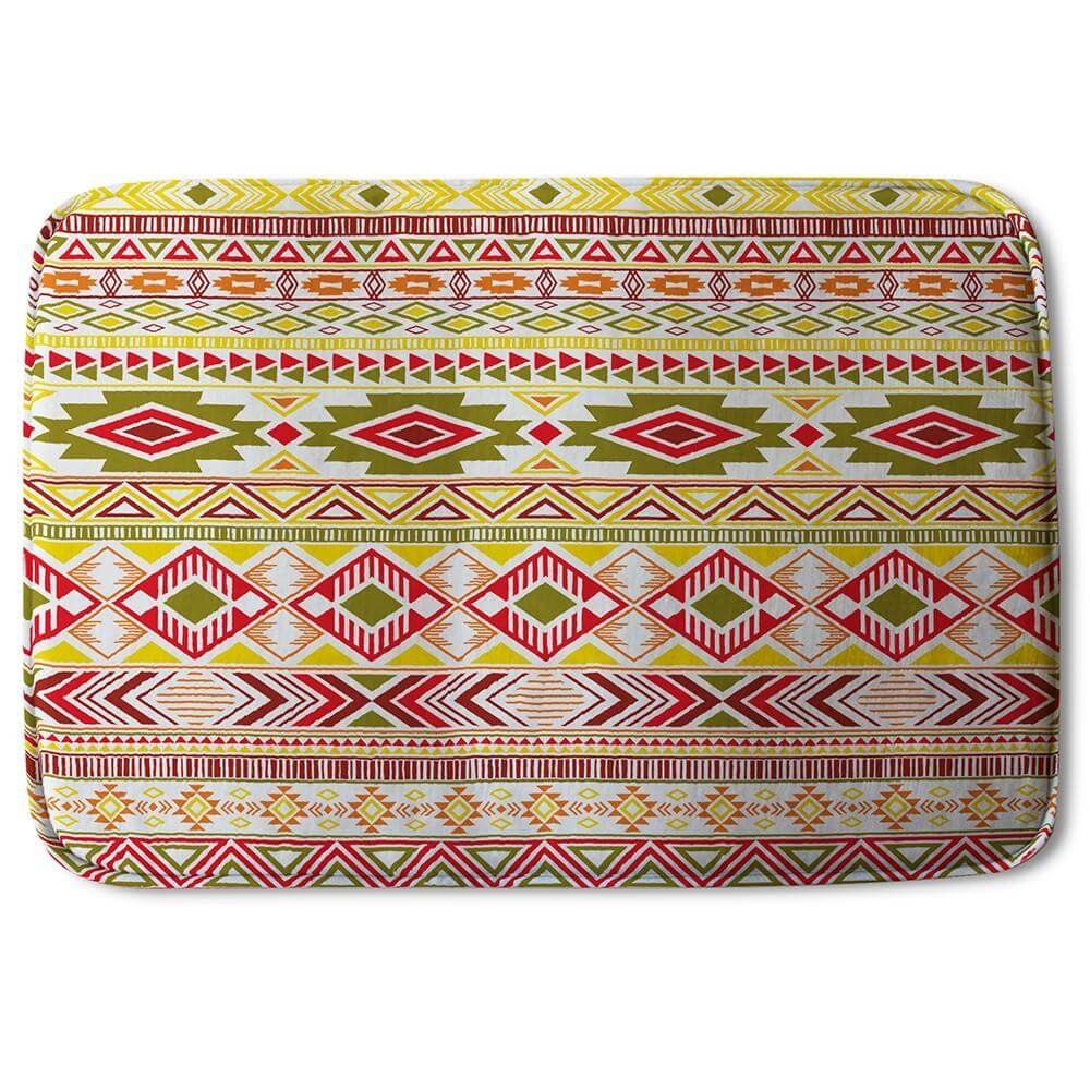 New Product Aztec American Indian Pattern (Bath Mat)  - Andrew Lee Home and Living