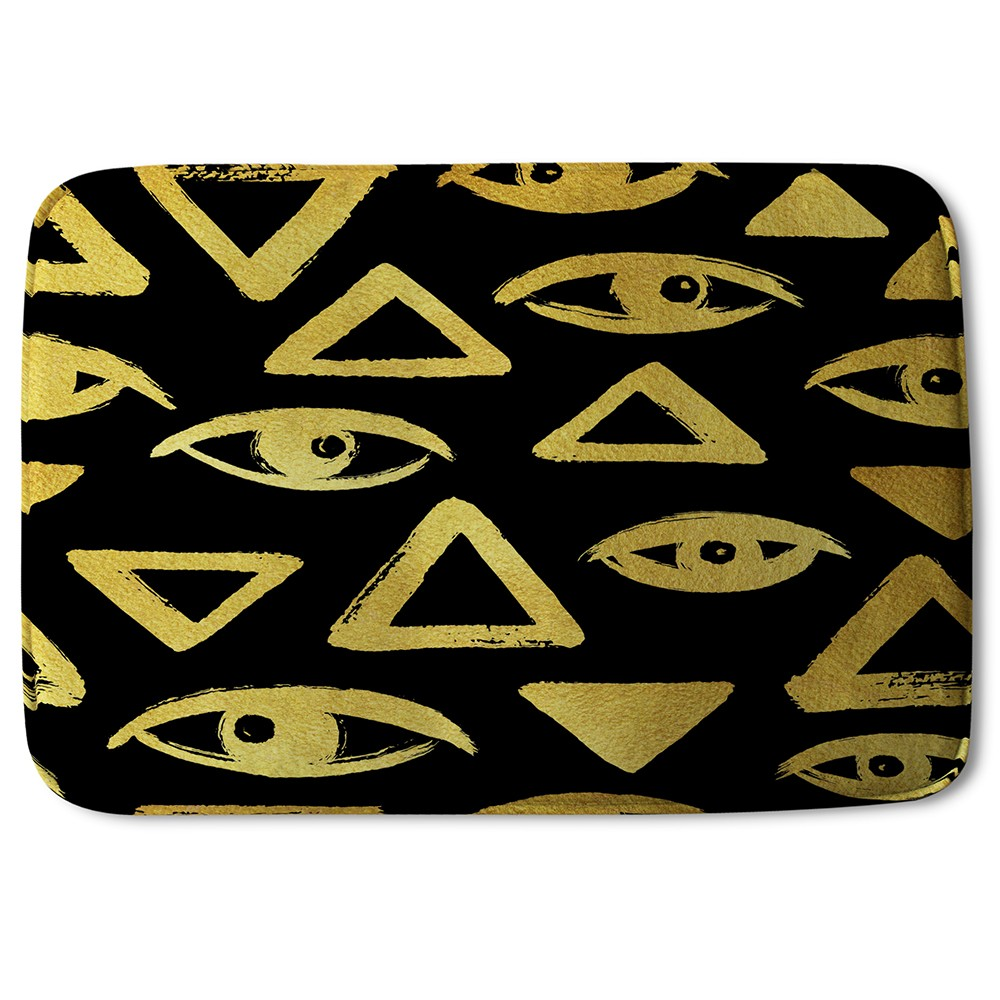New Product Eyes & Pyramids (Bath Mat)  - Andrew Lee Home and Living