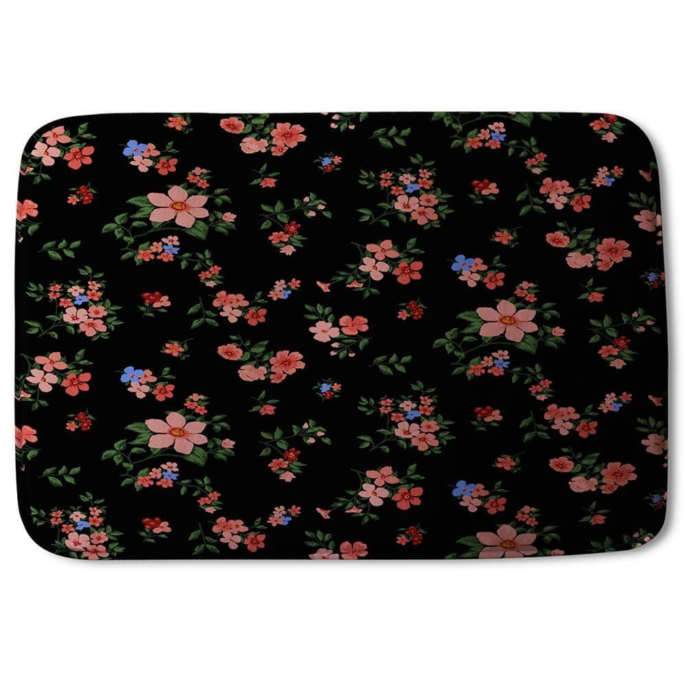 New Product Beautiful Pink Flowers (Bath Mat)  - Andrew Lee Home and Living