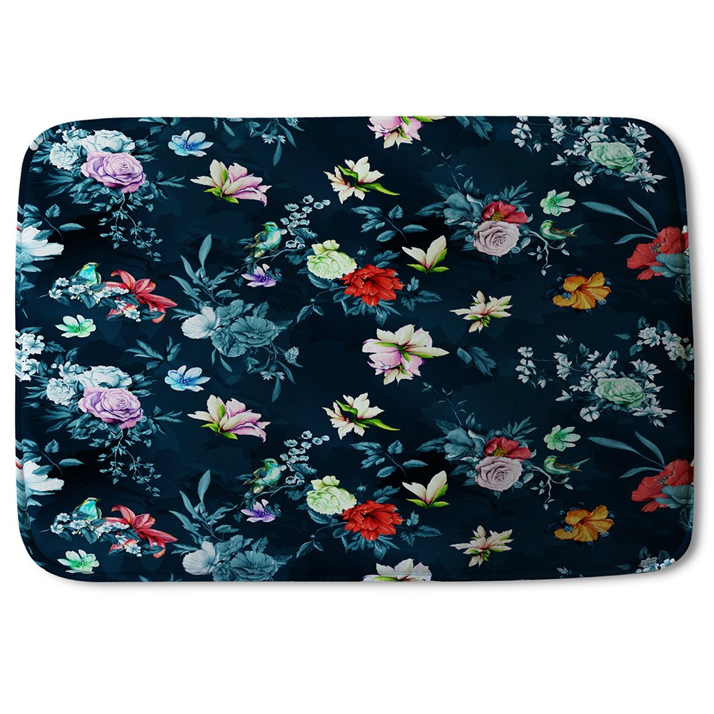 New Product Roses & Other Bright Flowers (Bath Mat)  - Andrew Lee Home and Living