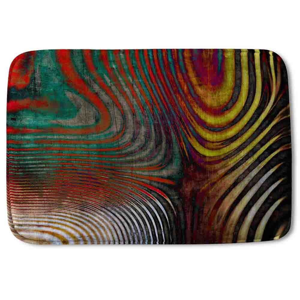 New Product Psychedelic Print (Bath Mat)  - Andrew Lee Home and Living